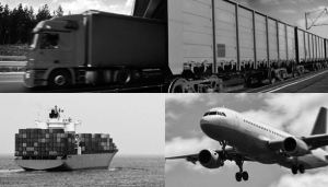 Freight forwarding by air and sea transport